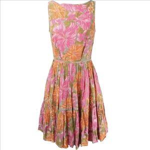 Tracy Feith Dresses - TRACY FEITH Retro Ruffle Boho Dress 100% Cotton